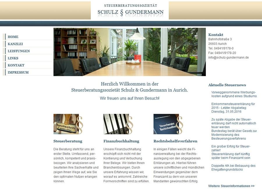Steuerberatungssozietät Schulz & Gundermann