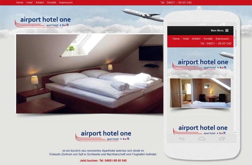 airport one hotel